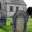 Stock Photo: Old gravestone