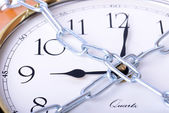 Chained time — Stock Photo