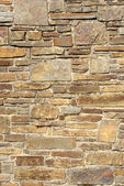 Natural stone wall — Stock Photo
