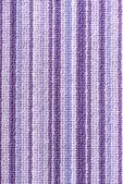 Purple stripey carpet — Stock Photo