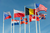 United flags — Stock Photo