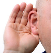 Hearing — Stock Photo