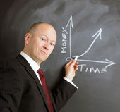 Time equals money — Stock Photo
