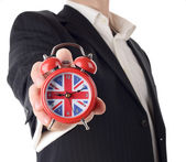 British time — Stock Photo
