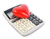 Love calculations — Stock Photo