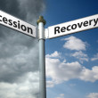 Recession or recovery — Stock Photo #51179171