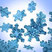 Płatki śniegu — Zdjęcie stockowe
