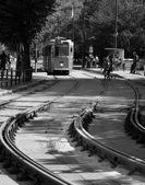 Antiguo tranvía — Foto de Stock