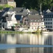 Cityscape  of Beilstein and Mosel River. — Stock Video