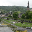 Cityscape of Cochem and Mosel River — Stock Video