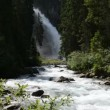 Stock Video: View of Krimml waterfall