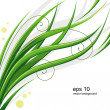 Stock Vector: Vector grass