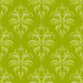 绿色无缝壁纸 — 图库矢量图片