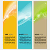 Neutral abstract banner — Stock Vector