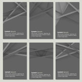 Set of business cards — Stock vektor