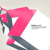 Geometrical background — Stock vektor