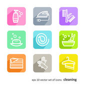 Cleaning — Stock Vector
