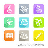 Chemistry — Stock Vector