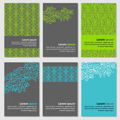 Set of neutral business cards — Stockvector