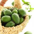Basket with a feijoa. — Stock Photo #14546497