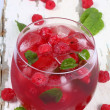 Raspberry mojitos. — Stock Photo #15845879