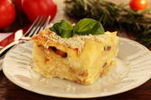 Homemade lasagna. — Stock Photo