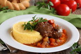 Osso Bucco. — Stock Photo