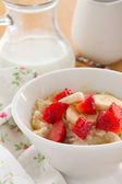 Oatmeal porridge. — Stock Photo