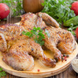 Chicken Tabak(Georgicuisine) — Stock Photo #30048371