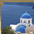 Stock Photo: Scenic Greek island in mediterranesea