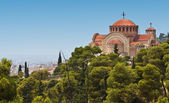 Orthodox church at Thessaloniki city in Greece — Stock Photo
