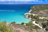 Mirabello bay at Crete island in Greece — Stock Photo