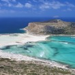 Balos beach at Crete island in Greece - Stock Photo