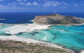 Balos beach at Crete island in Greece — Stock Photo