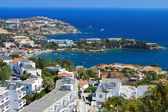 Aghia Pelagia bay at Crete island in Greece — Stock Photo
