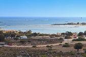 Elafonisos 海滩在克里特岛的希腊小岛 — 图库照片