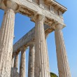 Classical ancient temple of AphaeAthinat Aeginisland in Greece. — Stock Photo #12893745