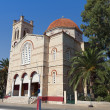 Stock Photo: Cathedral of Aiginisland in Greece