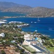 Elounda bay at Crete island in Greece — Stock Photo