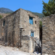 Village at Samaria gorge of Crete island in Greece — Stock Photo