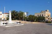 Aegina island at the mediterranean Europe in Greece — Stock Photo