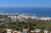 Malia riviera near Heraklio city at Crete island in Greece — Stock Photo