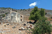 Old church at Aghia Roumeli of Crete island in Greece — Stock Photo