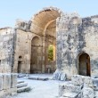 Stock Photo: Aghios Titos old byzantine church at Crete island in Greece