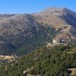 Plateau of Askyfou at Crete island in Greece — Stock Photo