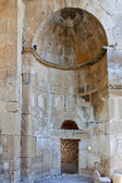 Byzantine church ruins in Greece — Stock Photo