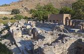 L'odeion a gortys antica dell'isola di creta in grecia — Foto Stock