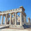 Classical ancient temple of Aphaea Athina in Greece. — Stock Photo