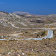 Mountains of Zakros at Crete island in Greece - Stock Photo
