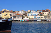 Ville de la canée sur l'île de crète en grèce — Photo